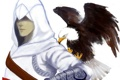 Картинка орёл, assassins creed, альтаир, eagle, altair
