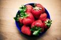 Картинка клубника, спелая, красная, ягоды