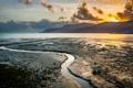 Картинка плаж, горы, рассвет, QLD, Cairns, Cairns Central