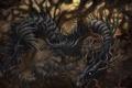 Картинка forest, wood, dragon, creature