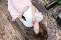 Картинка лето, девушка, лицо, релакс, доски
