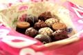 Картинка шоколад, конфеты, сладости, десерт, сладкое, тарелочка