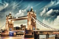 Картинка Tower Bridge, London, England, Thames River
