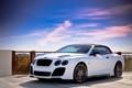 Картинка Небо, Авто, Bentley, Забор, Тюнинг, Машины