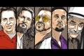 Картинка Movie, The Big Lebowski, Большой Лебовски, Кино, Characters, Арт, Art