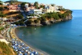Картинка Крит, фото, Mpali, море, город, пляж, побережье