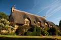 Картинка дизайн, дорожка, кусты, газон, дом, Великобритания, забор