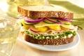 Картинка сыр, огурец, перец, бутерброд, салат, sandwich