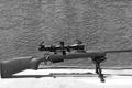 Картинка фон, оптика, винтовка, снайперская, сошка, Remington 700