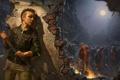 Картинка девушка, дождь, зомби, кирка, Infestation: Survivor Stories, The War Z