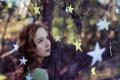 Картинка настроение, звёзды, девочка