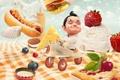 Картинка малыш, авиатор, Diner