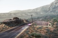Картинка дорога, машина, горы, полиция, Need For Speed: Hot Pursuit