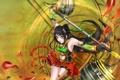 Картинка Guan Yinping: Lethal Dance, девушка, лепестки