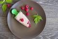 Картинка малина, листва, raspberry leaves, малиновое мороженое, raspberry ice cream