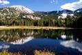 Картинка природа, озеро, отражение, красота, горное