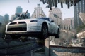 Картинка погоня, полиция, Need for Speed, Most Wanted, ниссан, Electronic Arts, белый