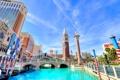 Картинка Лас-Вегас, Венеция, канал, США, Невада, казино, колонна