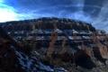 Картинка небо, облака, горы, скалы, каньон, сша, Arizona
