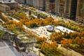 Картинка осень, парк, Chicago, Illinois, монумент, Millennium Park