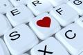 Картинка сердце, клавиши, разное