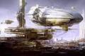 Картинка город, корабли, Deloading