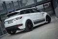 Картинка car, white, Land Rover, Range Rover, tuning, Evoque, Prior-Design