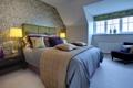 Картинка дизайн, спальня, вилла, жилая комната, дом, коттедж, интерьер