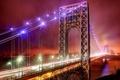 Картинка United States, New Jersey, The George Washington Bridge, Fort Lee