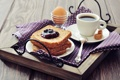 Картинка варенье, ложка, джем, яйцо, завтрак, еда, хлеб