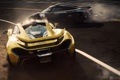 Картинка гонка, Koenigsegg, суперкары, McLaren P1, Need for Speed Rivals, занос.дарога