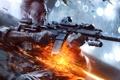 Картинка Огни, Свет, Перчатки, Солдат, Оружие, Военный, Electronic Arts