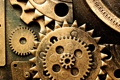 Картинка metal, gears, mechanism