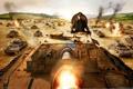 Картинка world of tanks, наступление, командуищий