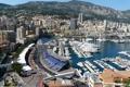 Картинка горы, город, яхты, монако, monaco