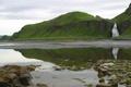 Картинка природа, скала, камни, фото, водопад, Камчатка