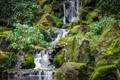 Картинка США, национальный парк, Орегон, водопад, природа, камни