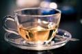 Картинка зеленый, чай, утро, ложка, кружка, чашка, напиток