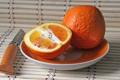 Картинка макро, апельсин, фрукты