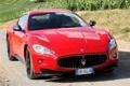 Картинка фары, Maserati, автомобиль, MC Sport Line, GranTurismo S, передок, красный