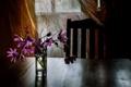 Картинка цветы, стол, комната