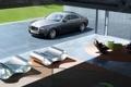 Картинка авто, дом, Rolls Royce, Ghost, стекла, роллс ройс