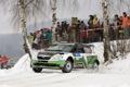 Картинка люди, Зима, Снег, Rally, Ралли, Передок, Фаны