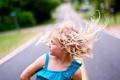 Картинка дорога, настроение, девочка