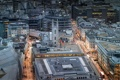 Картинка Лондон, дома, Великобритания, вид сверху, улицы