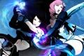 Картинка оружие, девушки, бой, киборг, Asuka, Tekken Revolution, Alisa