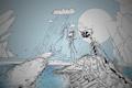 Картинка вода, дождь, айсберг, существа, matei apostolescu