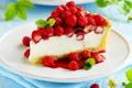 Картинка ягоды, сладость, земляника, пирог, cake, выпечка, cakes
