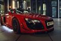 Картинка авто, Audi, тюнинг, подсветка, передок, Prior-Design, GT650