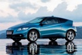 Картинка хонда, отражение, CR-Z, Honda, небо